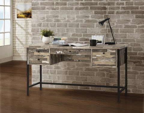CT801235 SALVAGED CABIN WRITING DESK