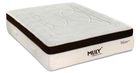 Mlily Bliss 15-inch Luxury Gel Memory Foam Euro Top Mattress