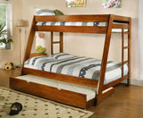ARES TWIN/FULL BUNK BED