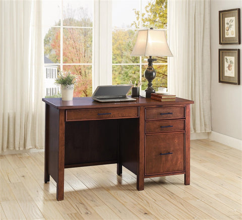 CT8001198 CONTEMPORARY STYLE HONEY OFFICE DESK