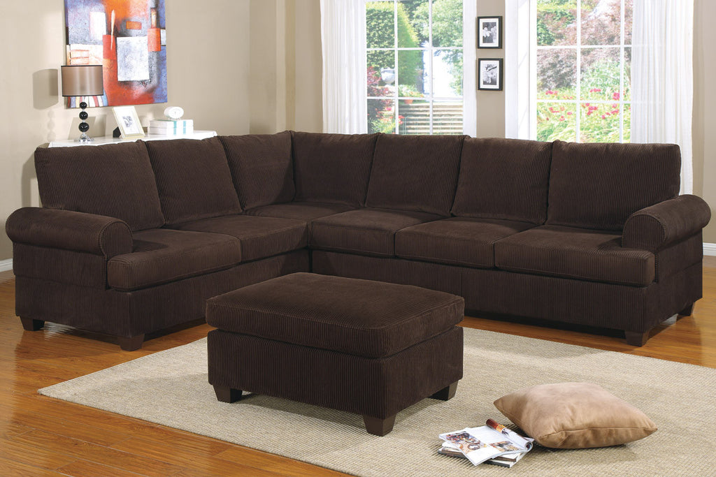 2-PCS REVERSIBLE SECTIONAL PD7133