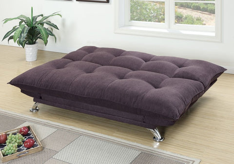 FAUX LEATHER ADJUSTABLE SOFA BED FUTON PD7003