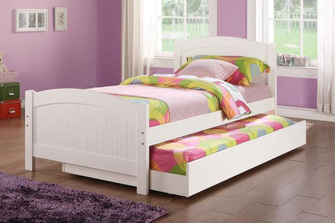 Poundex F9217 Twin Bed with Trundle