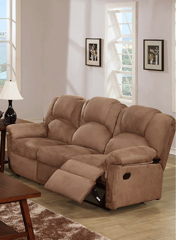 SADDLE MICROFIBER MOTION SOFA PD6688