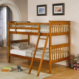 PARKER TWIN/TWIN BUNK BED