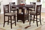 POUNDEX F2345 5 Piece Dining Set