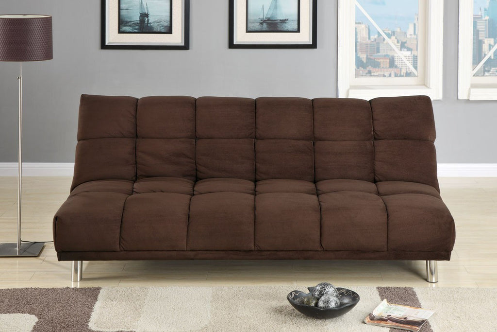 MICROFIBER ADJUSTABLE SOFA BED PD7217