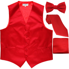 Vest Sets (Tie, Bowtie, and/or Hankie)