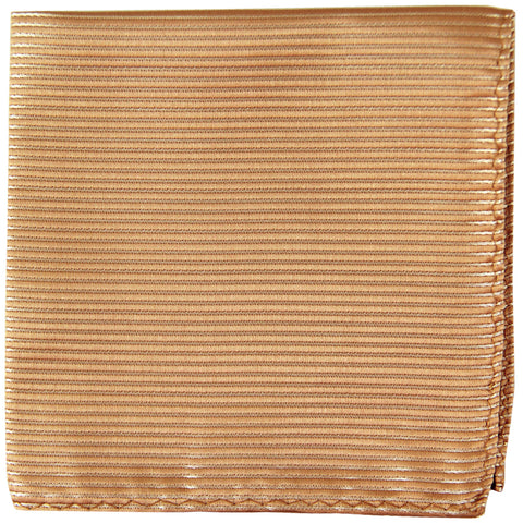 New Polyester Woven Thin Striped Pocket Square Hankie Handkerchief