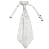 New 100% Polyester Men's Paisley Ascot Cravat Only Wedding Prom formal