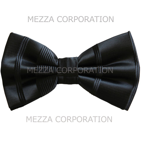 New formal men's pre tied Bow tie striped