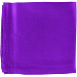 New MANZO Men's Polyester Shiny Finish Pocket Square Hankie Only formal