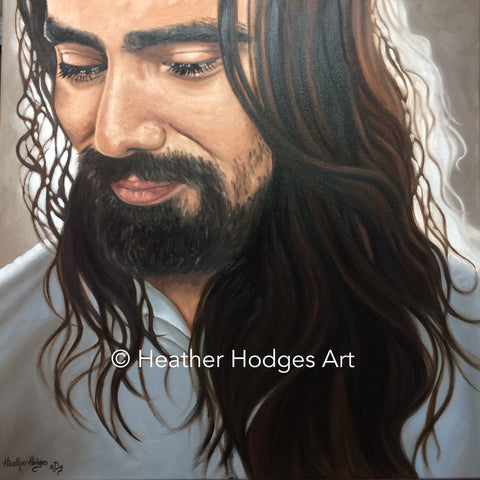 "SOLD - ""Simply Jesus"""