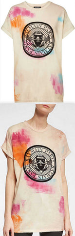 Printed Cotton T-Shirt | DESIGNER INSPIRED FASHIONS