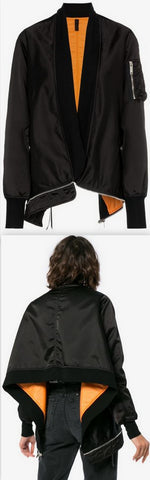 Bomber Cape Jacket
