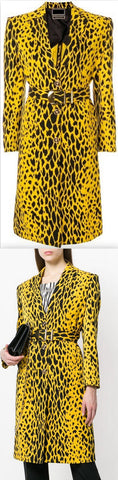 Animal Print Coat | DESIGNER INSPIRED FASHIONS