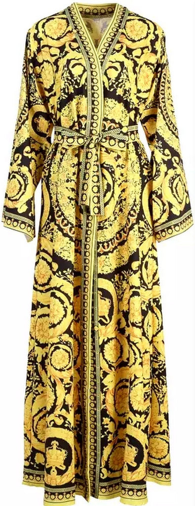 Baroque Printed Robe