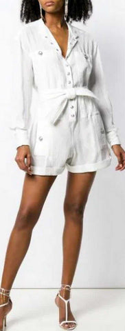Belted Waist Playsuit | DESIGNER INSPIRED FASHIONS