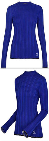 Long Sleeve Round Neck Pullover | DESIGNER INSPIRED FASHIONS
