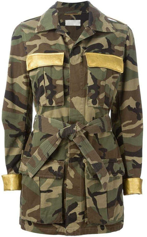 Camouflage Military Jacket - DESIGNER INSPIRED FASHIONS