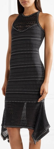 Asymmetrical Bandage Dress