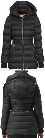 'Limehouse' Quilted Down Puffer Coat