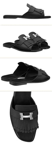 'Auteuil' Sandals, Black