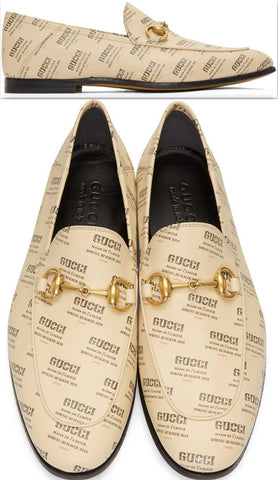All Over Logo Stamp Brixton Loafers | DESIGNER INSPIRED FASHIONS