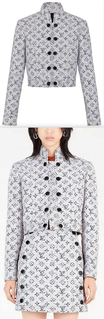 Standing Collar Jacket | DESIGNER INSPIRED FASHIONS