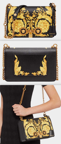 'Barocco' Icon Medium Shoulder Bag | DESIGNER INSPIRED FASHIONS