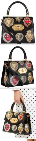 Welcome Majolica Sacred Heart Handbag