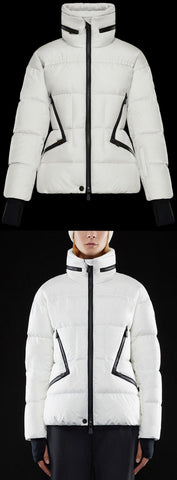 'Grenoble Dixence' Jacket, White