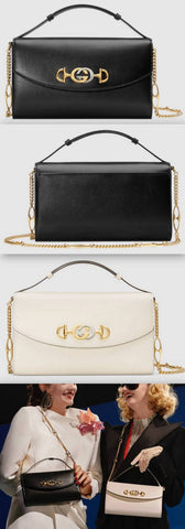 Zumi Smooth Leather Small Shoulder Bag - Black or White | DESIGNER INSPIRED FASHIONS