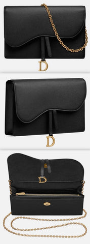 Saddle Calfskin Clutch