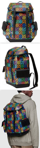 Medium GG Psychedelic Backpack