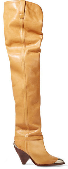 9533d4fcfa9  Lafsten  Embellished Leather Over-the-Knee Boots – DESIGNER INSPIRED  FASHIONS