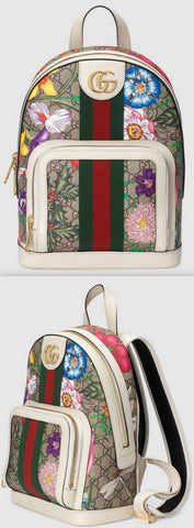 Ophidia GG Flora Small Backpack | DESIGNER INSPIRED FASHIONS