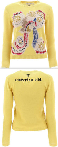 Embroidered Crewneck Sweater | DESIGNER INSPIRED FASHIONS