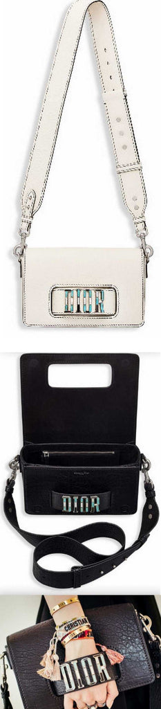 Dio(r)evolution Flap Bag - White or Black