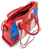 Classic City S Bag - Red, White & Blue Stripes