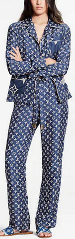 Escale Pajama Shirt and Pant Set