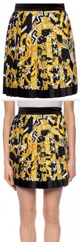 Printed Pleated Skirt | DESIGNER INSPIRED FASHIONS