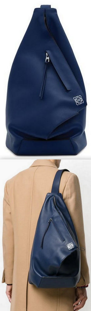 Anton Backpack, Navy Blue