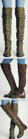 'Black Forest' Over The Knee Boot - DESIGNER INSPIRED FASHIONS