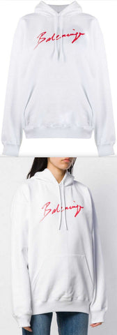 Back Pulled Logo Hoodie | DESIGNER INSPIRED FASHIONS
