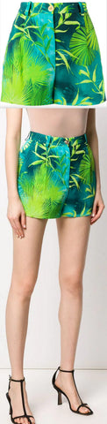 Botanical Print Shorts