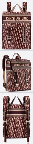 Embroidered Canvas Backpack | DESIGNER INSPIRED FASHIONS