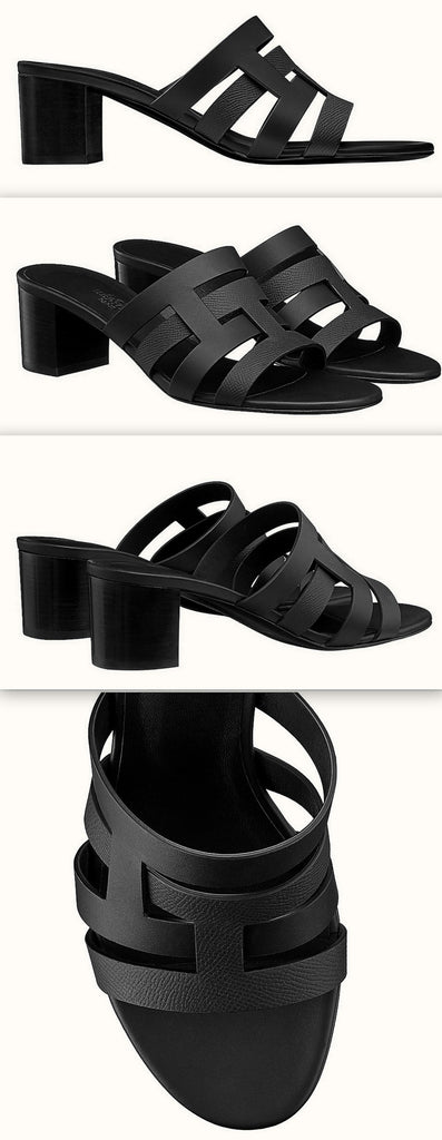 'Amica' Sandals, Black | DESIGNER INSPIRED FASHIONS