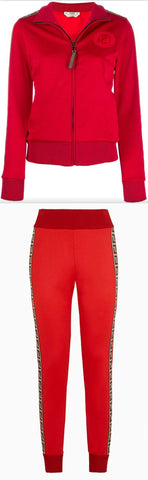FF Logo Tracksuit, Red