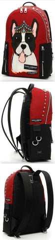 Vulcano Studded Dog Backpack